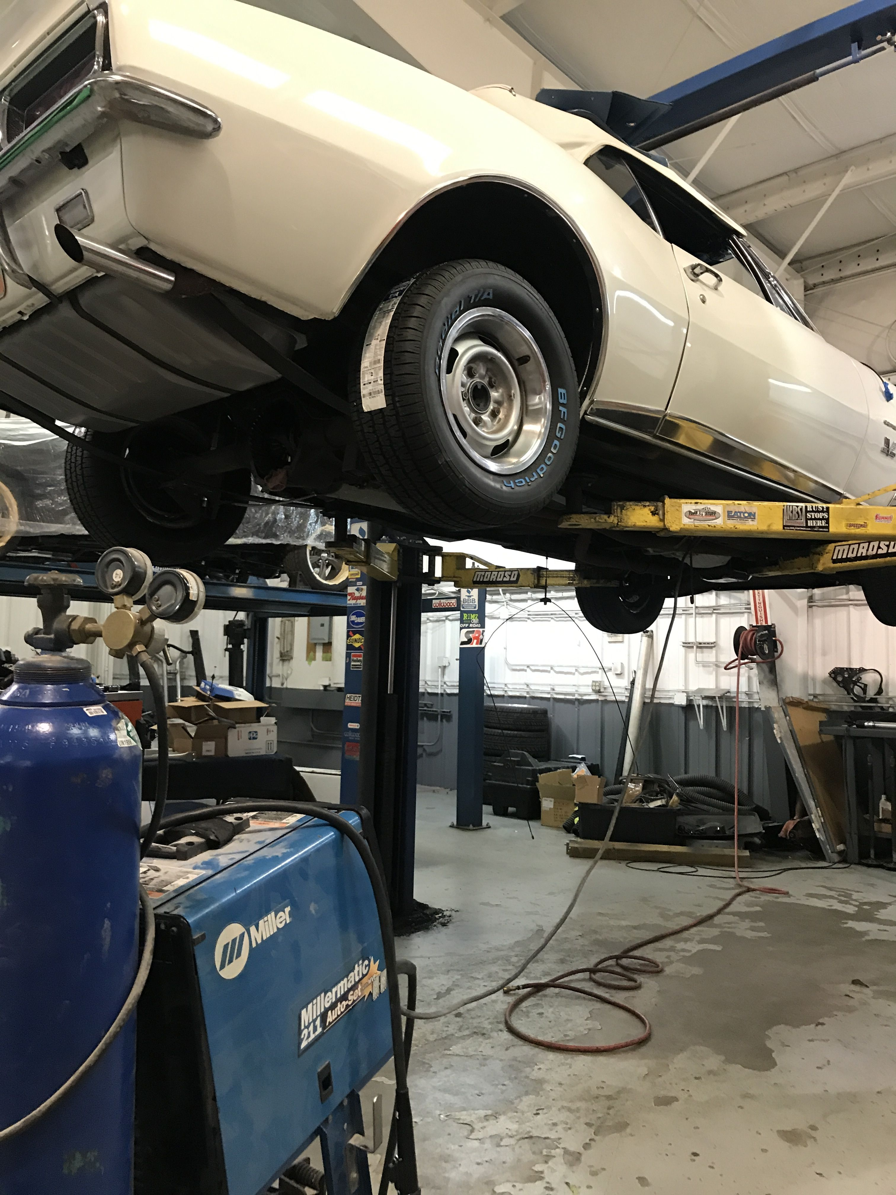 This 1967 Camaro Has Some New Frame Rail Connectors Being Installed Here At Quarter Mile Muscle Classic Car Restoration Automotive Restoration Camaro