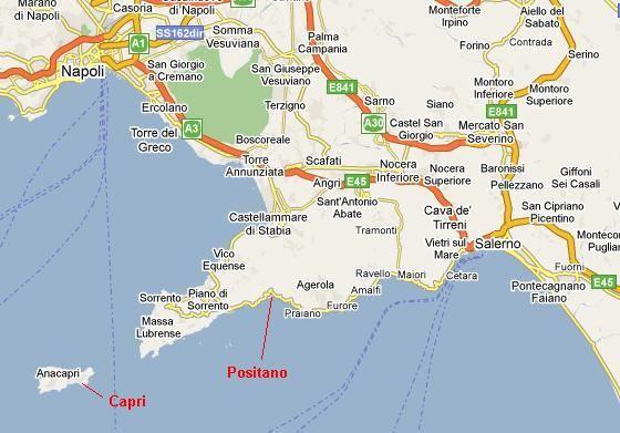 Amalfi Coast Map Amalfi Coast Italy Amalfi Coast Amalfi