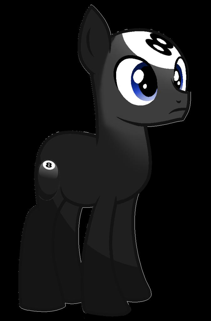 2285223 Safe Artist Rainbow Eevee Earth Pony Object Pony Original Species Pony 8 Ball 8 Ball Bfb Ball Pony Battle F Pony Simple Backgrounds Eevee