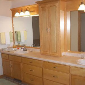 Bathroom Countertop Storage Cabinet
