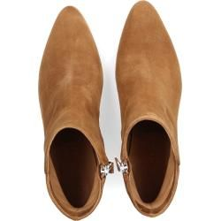 Photo of Pomme D'or Boots 6900 Velor Leather TaupeBudapester.co