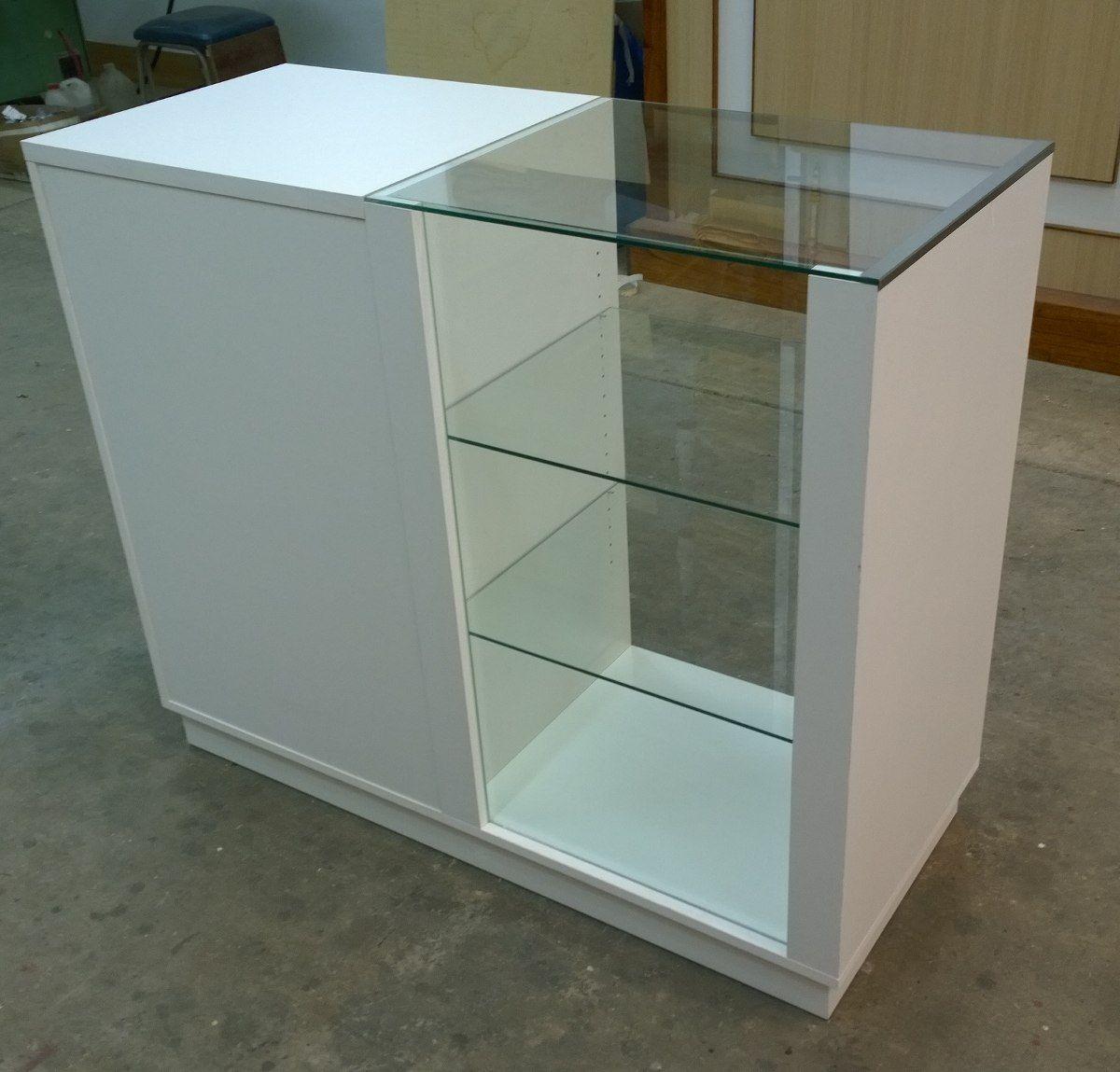 Mostrador con vitrina env o gratis - Mostradores de cocina ...