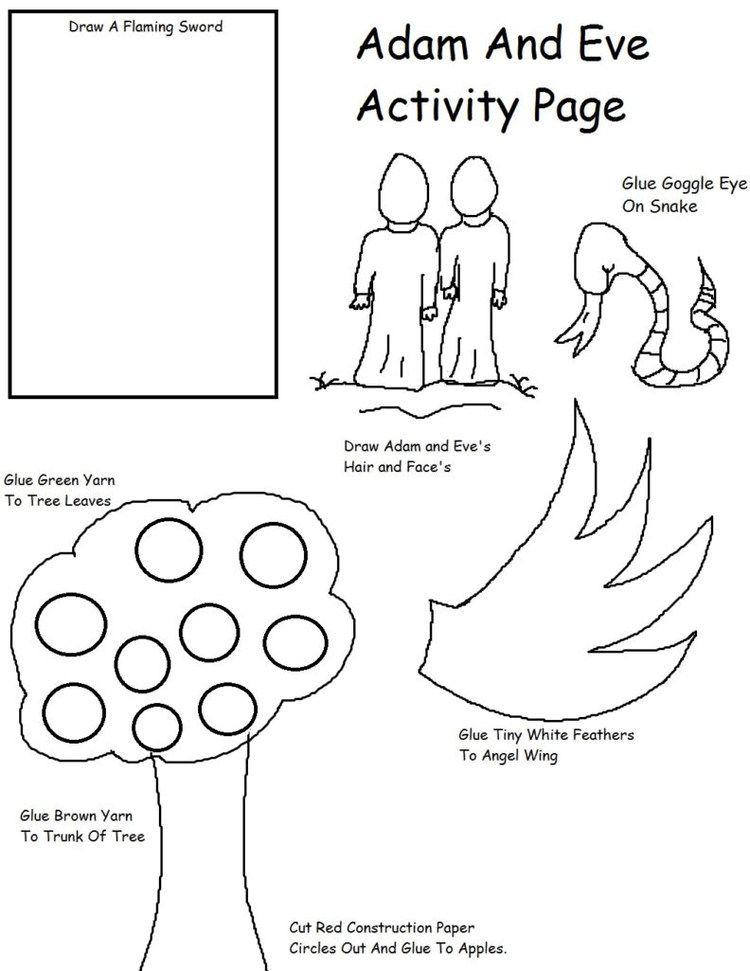 Adam And Eve In Fig Leaves Adao E Eva Atividades Sobre A Biblia