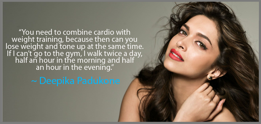 Deepika Padukone works hard on her #diet, weight and # ...