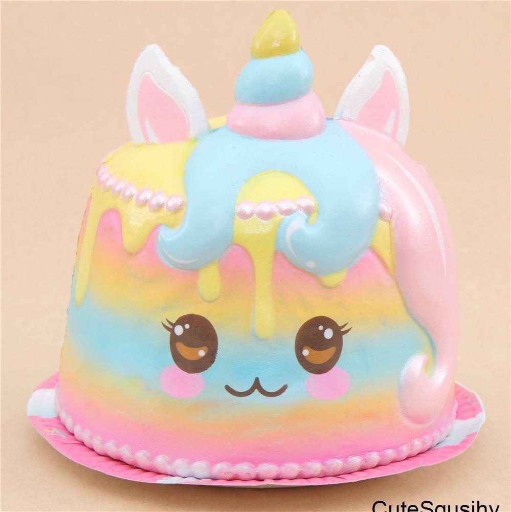 Scented Unicorn Cake Squishy Cake Squishy Cute Squishies