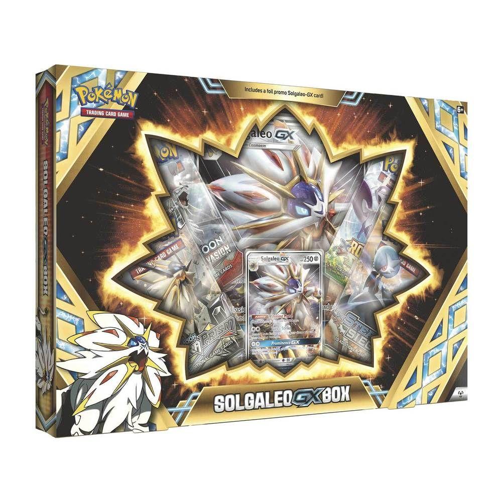 Pokemon sun moon solgaleogx box pokemon pokemon