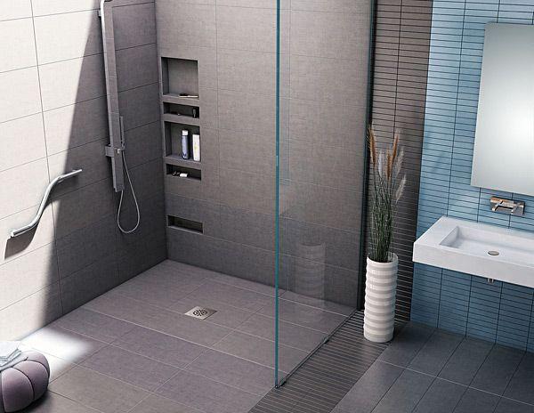 Redi Free Barrier Free Brands Shower Shelves Recessed Shower