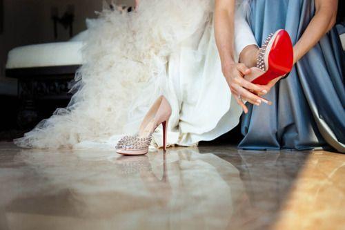Spiked Louboutin Wedding Shoes Christian Louboutin Wedding Shoes
