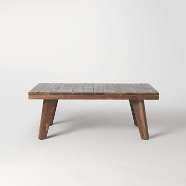 West Elm Patchwork Coffee Table, Patchwork Metal