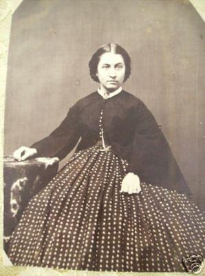 zouave jacket and polka dot skirt