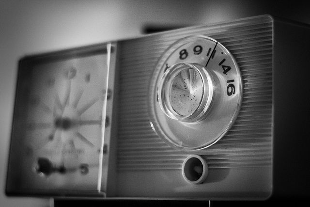 Vintage AM Radio & Alarm Clock by Bryen Bushner
