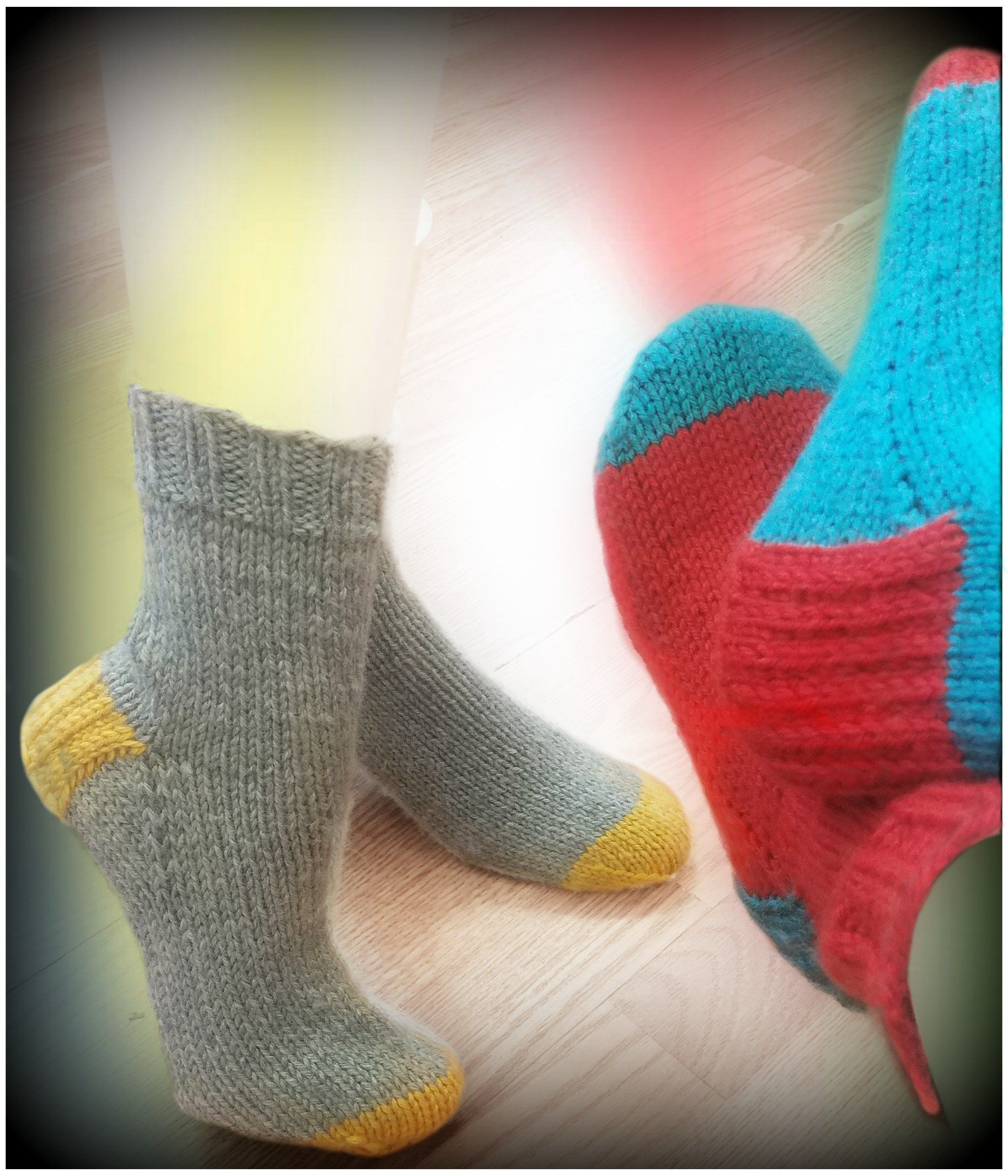Easy Bed Socks - Designed by Stephanie Boozer   Knitting ...
