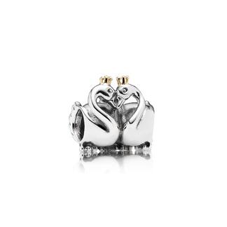 Pandora MOA - Swan Embrace Charm, $85
