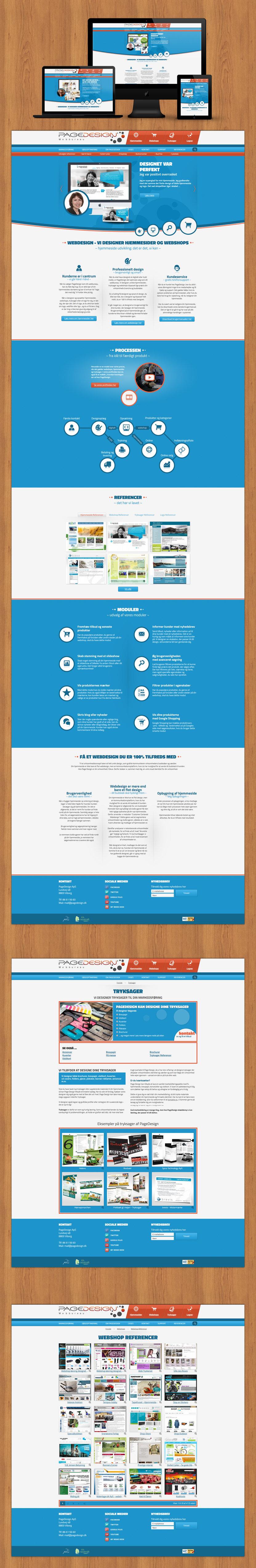 Page Design producerer flotte hjemmesider og webshops med cms system.