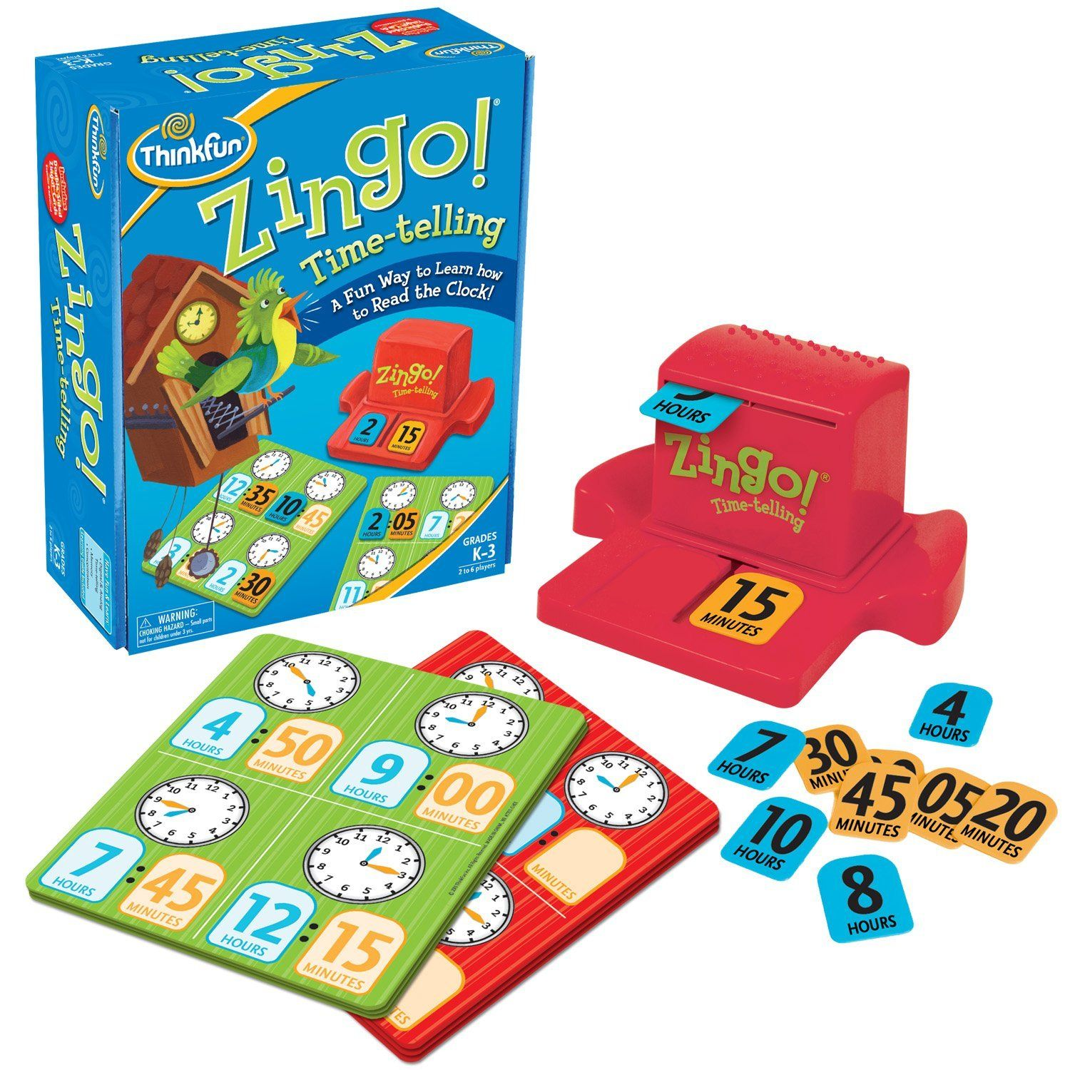 Zingo Time Telling Game