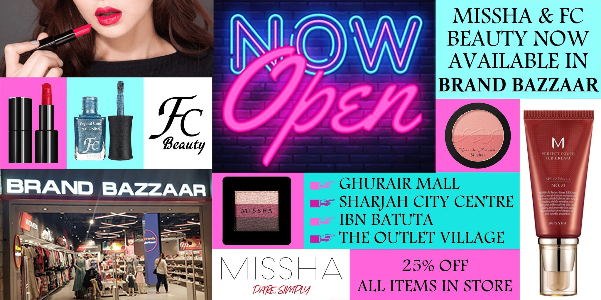 Korea's Top Makeup and Skincare Brand Missha Middle East