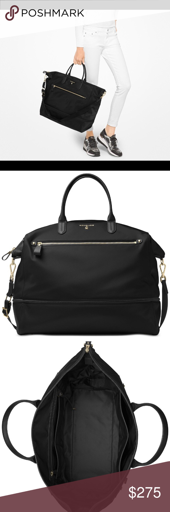 5416205a0f1b MK Extra Large Kelsey Expandable Travel Tote Easily fits 4 outfits and 2  pairs of shoes. Great Carry On Michael Kors Bags Travel Bags
