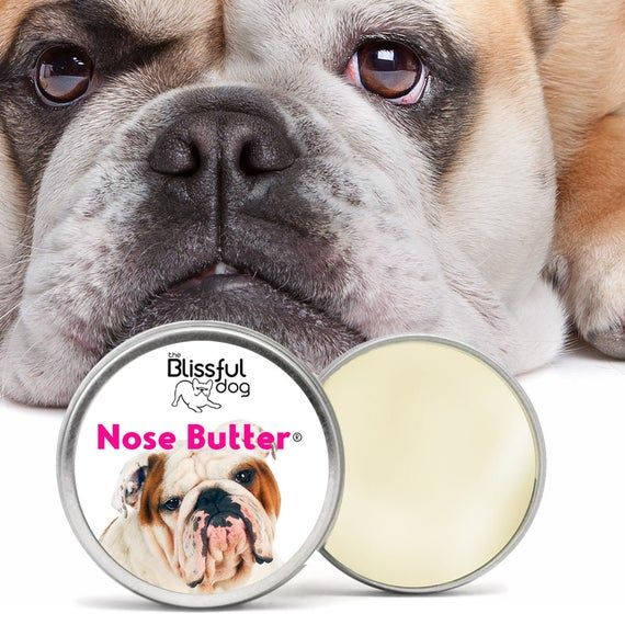 Bulldog Nose Butter All Natural Handcrafted Moisturizing Balm For