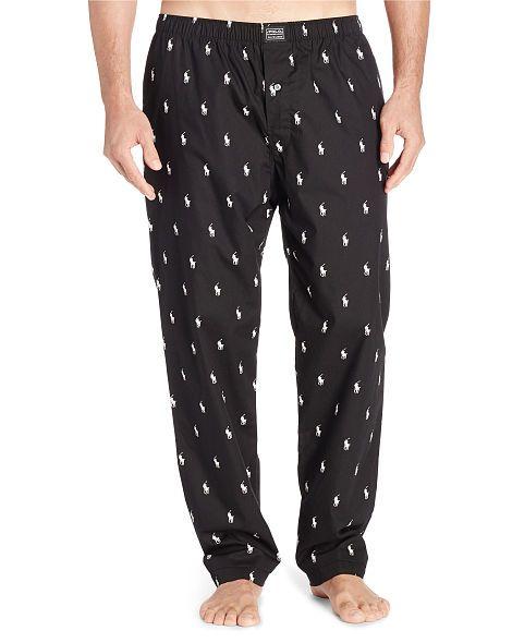 e683bc7f50 Allover Pony Sleep Pant - Polo Ralph Lauren Sleepwear - RalphLauren ...