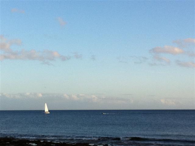 Sailing in Lanzarote