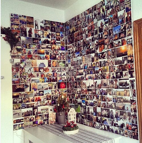 Bildergebnis Für Fotowand Gestalten Ohne Bilderrahmen