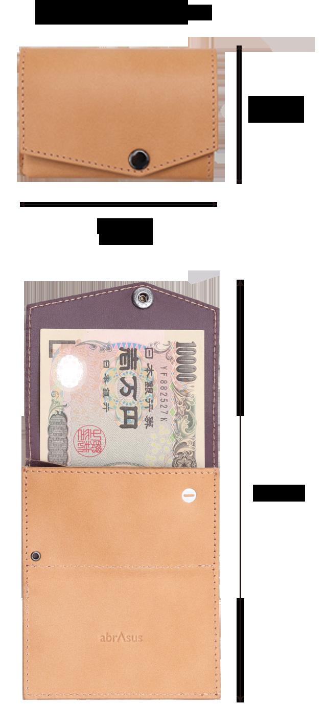 70e8bea2d488 公式》グッドデザイン賞を受賞した、小さい財布のダンボー仕様。SUPER ...