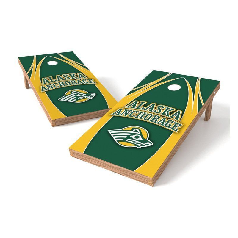 Wild Sales NCAA XL Shield V Logo Cornhole Set - XLS1C-