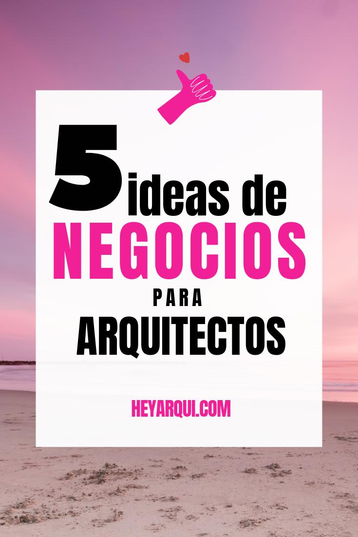 5 Ideas De Trabajo De Arquitecto Emprende Sin Dejar Tu Empleo Trabajo De Arquitecto Temas De Arquitectura Arquitectos