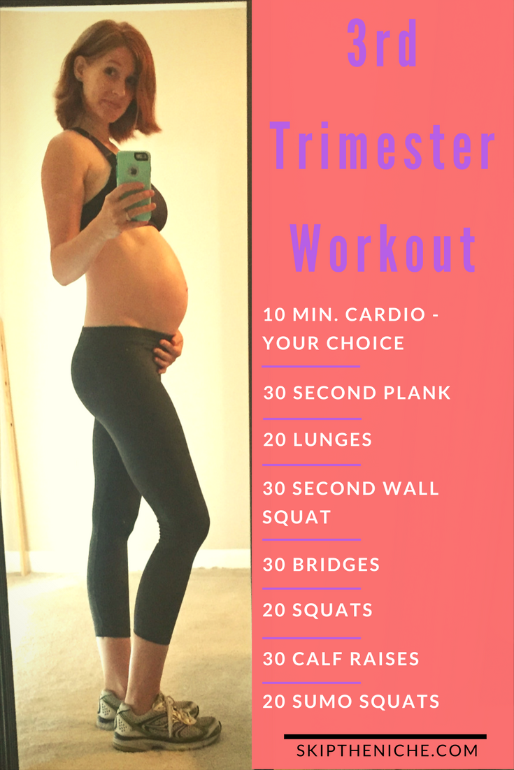 Fast and Easy workout for those last few months! At home workout. Pregnant workout. http://www.weightlossjumps.com/how-to-start-losing-weight-for-beginners/