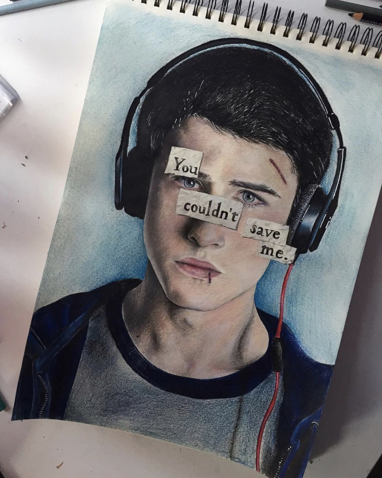 Clay Jensen Dylan Minnette 13 Reasons Why Wallpapers Series