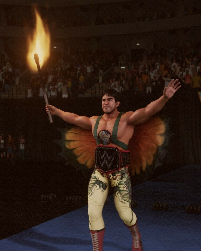 Ricky the Dragon Steamboat  (WWE 2K18) | WWE 2K screenshots