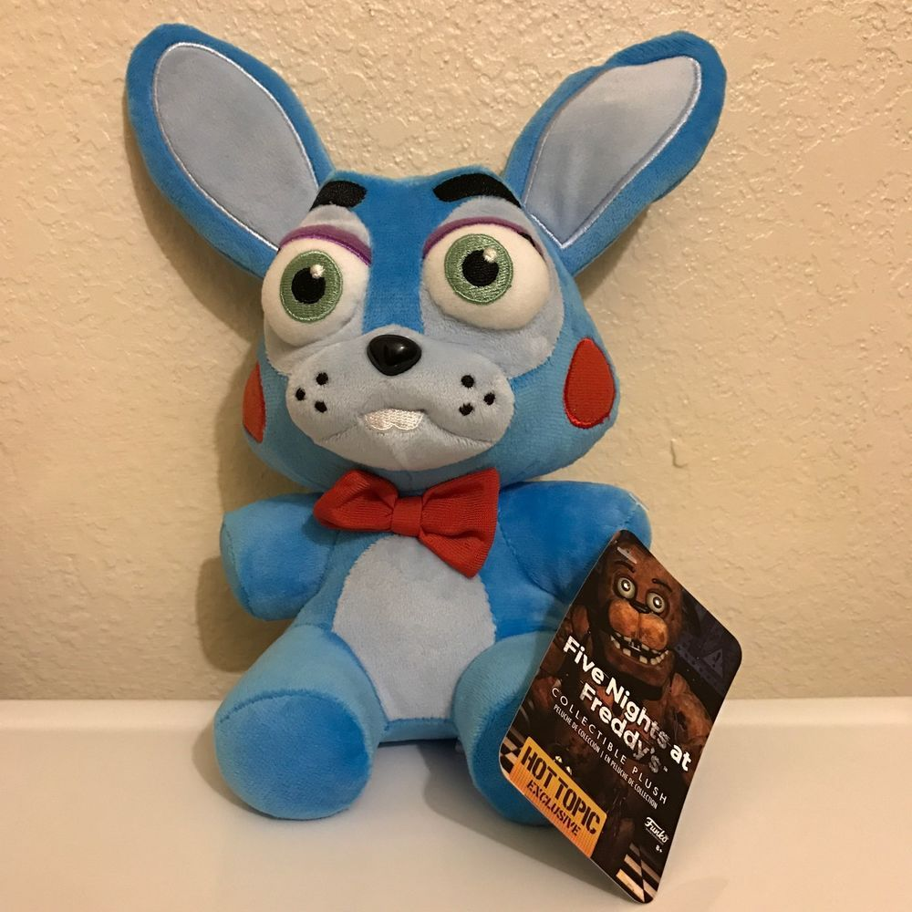 Toys From Hot Topic : Fnaf five nights at freddy s nightmare toy bonny hot topic