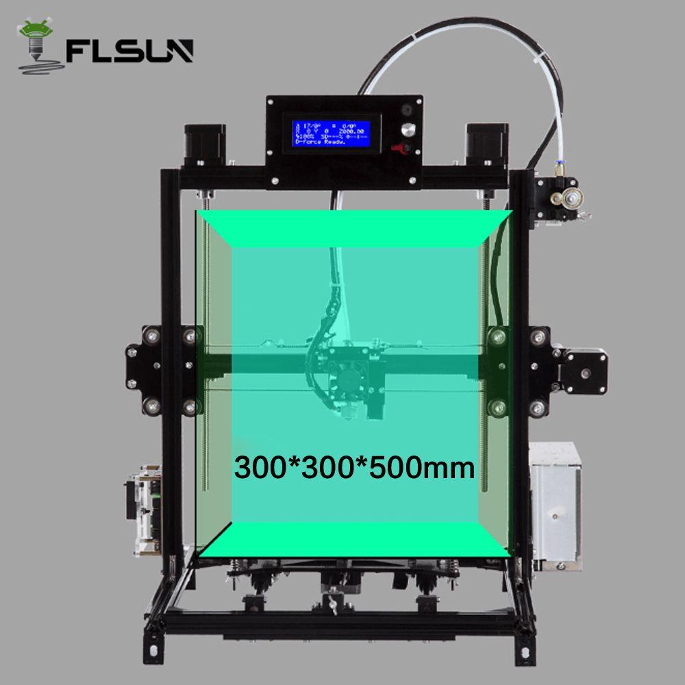 Flsun I3 Diy 3d Printer Kit Large Printing Area 300 300 500mm Open Build Aluminium 3d Printer Kit 3d Printer Printer