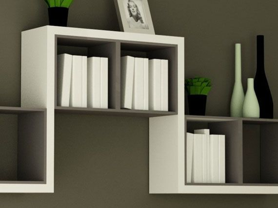simple and decorative wall shelf design - Wall Shelves Design