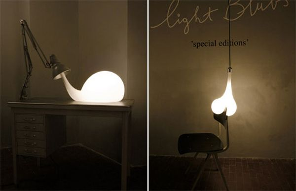 Creative lighting bulb design - Creative lighting ideas ...