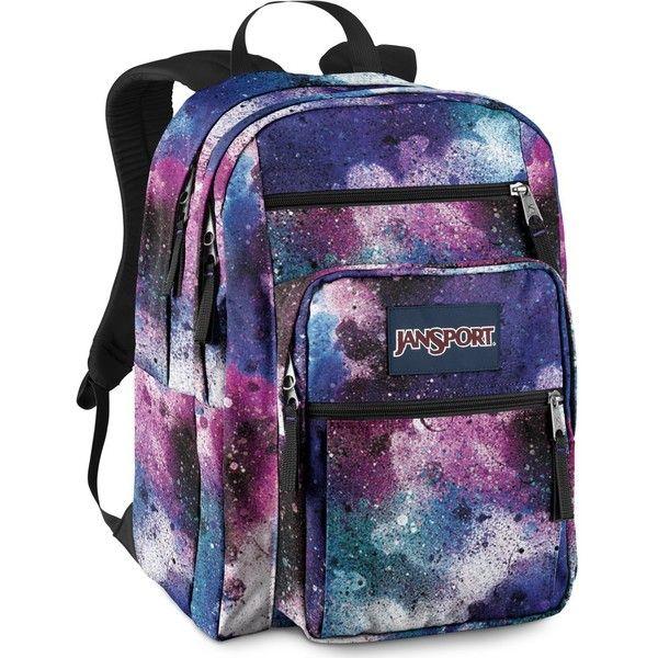 JanSport Big Student School Backpack (White/Black Cosmo Zebra ...