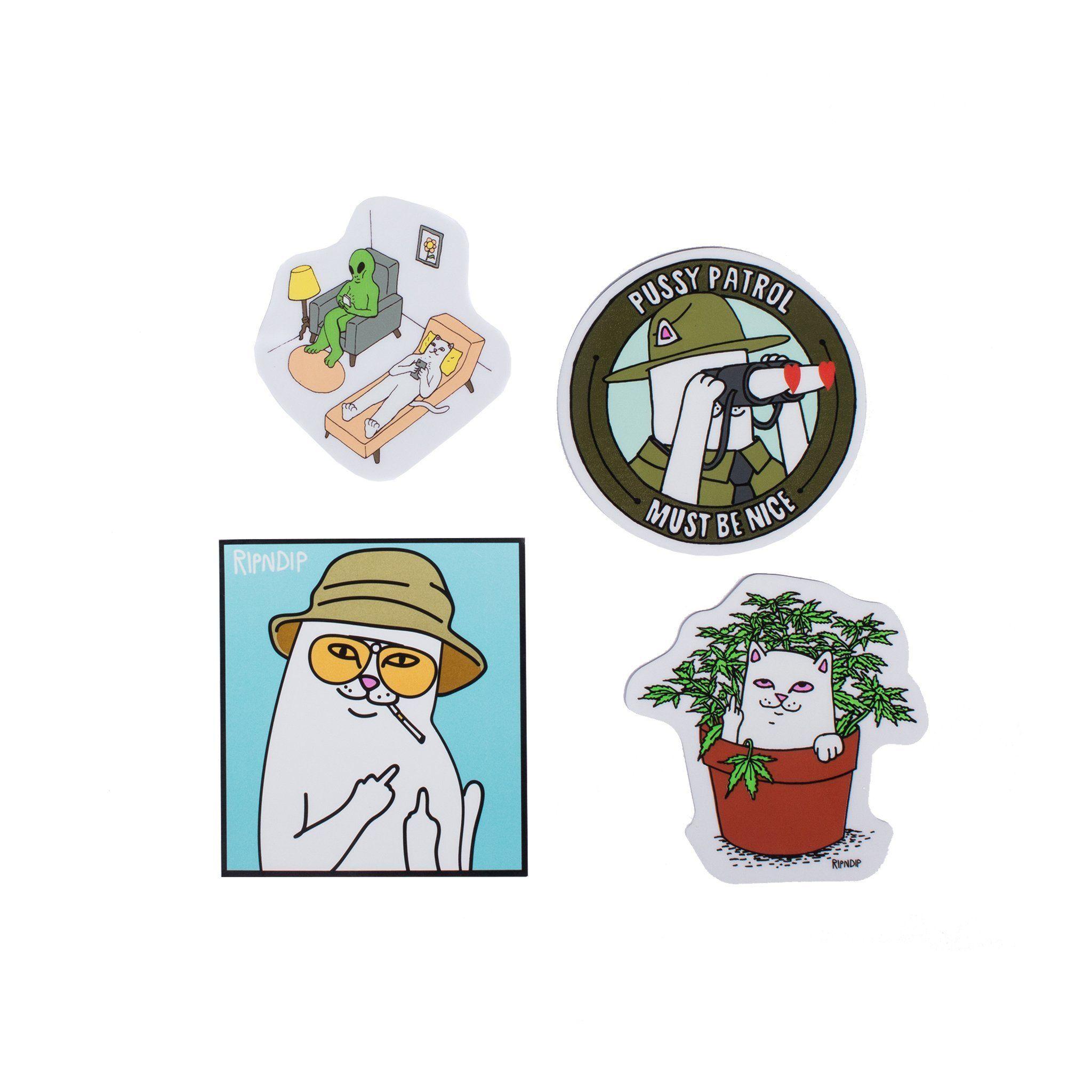 Ripndip Fall 2017 Sticker Pack In 2020 Stickers Stickers