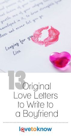 The perfect love letter to your boyfriend