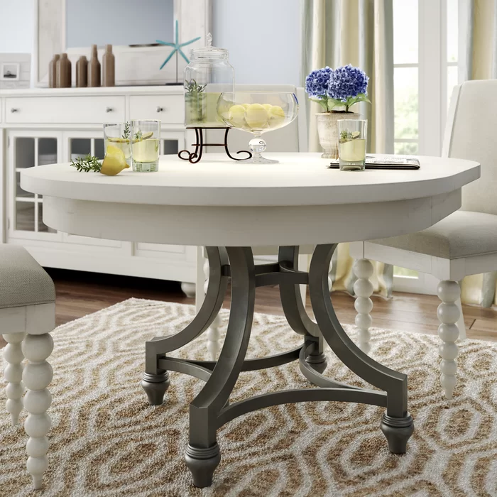 Extendable Dining Table Reviews Birch Lane Dining Table Dining Table In Kitchen Dining Room Table