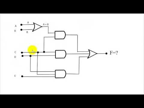 logic gates with circuit simplification bangla tutorial 07 rh pinterest com Series Circuit Diagram Diagram Electrical Circuit