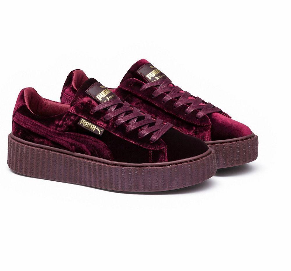 pretty nice 35bf7 37ee4 Women's PUMA x FENTY RIHANNA CREEPER, Purple, Size 7 | eBay ...