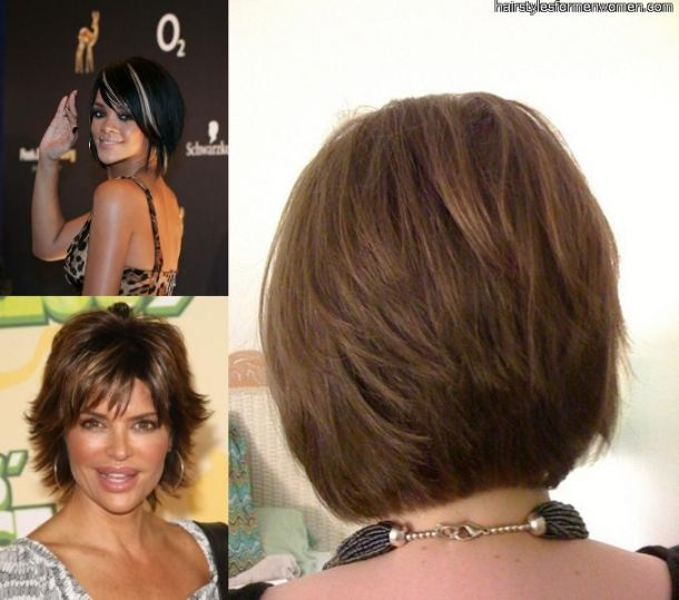 Stacked Hairstyles Women Over 50 Haircut Pics Of Short Hair Styles Short Hair Formal Styles Cool Stacked Bob Haircut Bob Haircut Back View Bob Hairstyles