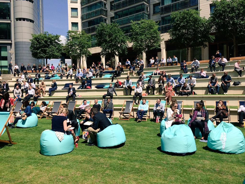 Come down to Paddington Central & check out the new amphitheatre & big screen launch! #PCEvents