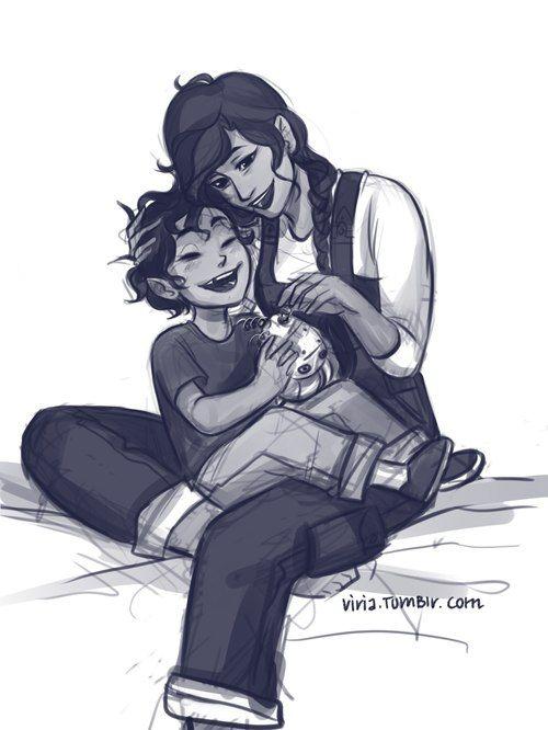Leo with Mom!! Awww!!