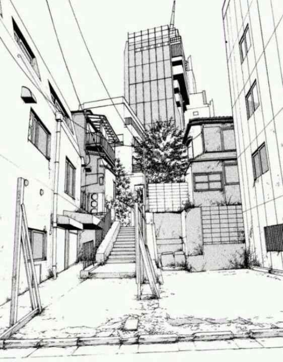 Manga Landscape Manga Landscape Manga Scenery Manga Background Artwork anime wallpaper sketch