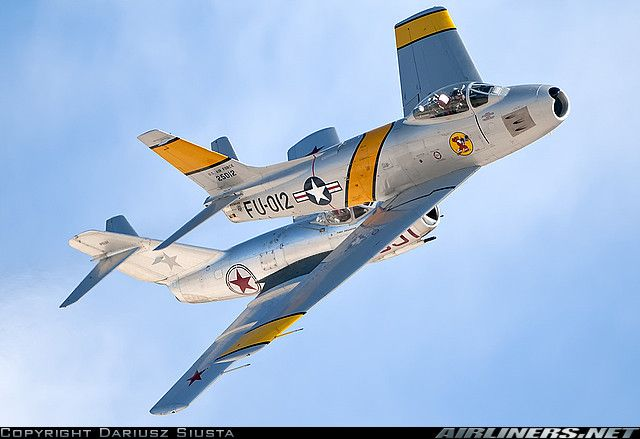North American F-86F Sabre aircraft picture