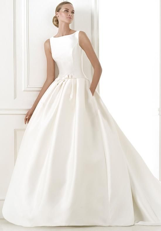 PRONOVIAS BARCAZA Wedding Dress - The Knot