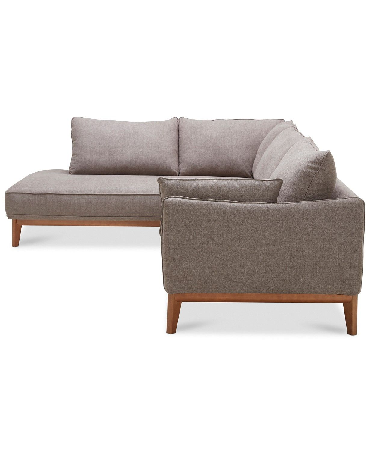 Furniture Jollene 113 Small Sectional Sofa Furniture Couch