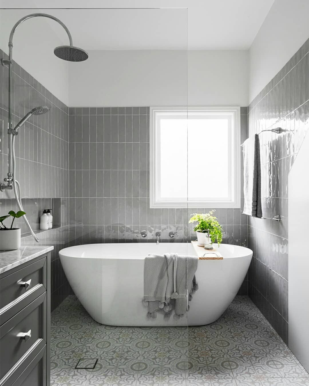 Reece Bathrooms On Instagram Make The Most Of A Smaller Footprint With An Integrated Wet Zone And Achieve Reece Bathroom Wet Bathroom Ideas Wet Room Bathroom