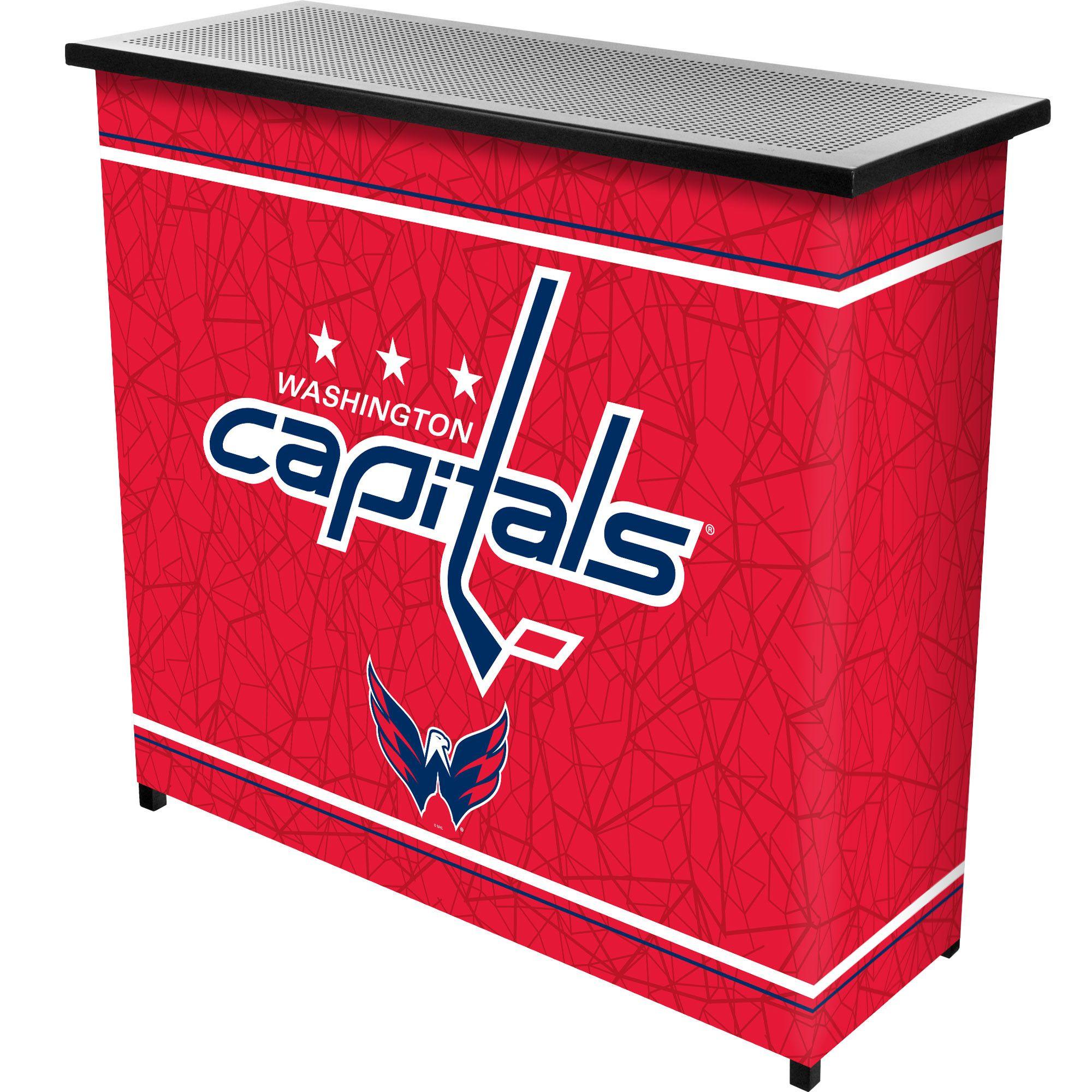 Washington Capitals Two-Shelf Portable Bar
